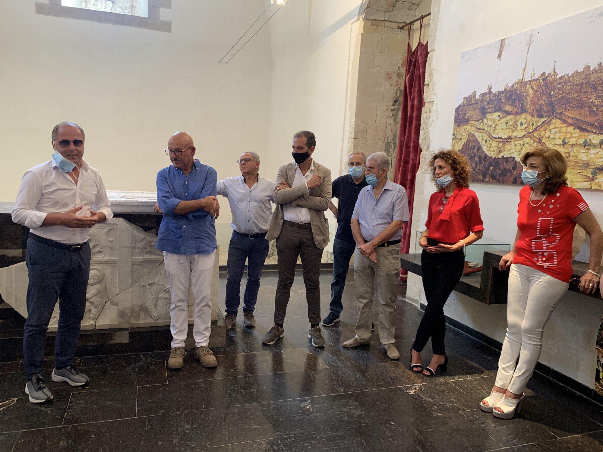"""Una collettiva d'arte contemporanea, tutta al siciliano, """"in scena"""" al Tina di Lorenzo di Noto"""