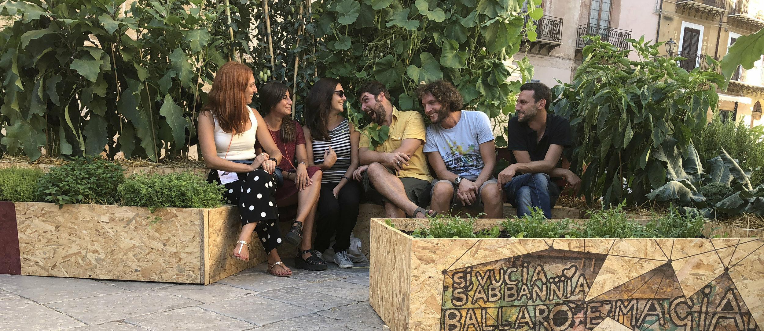Orto Capovolto - La cooperativa che vuole portare il verde a Palermo