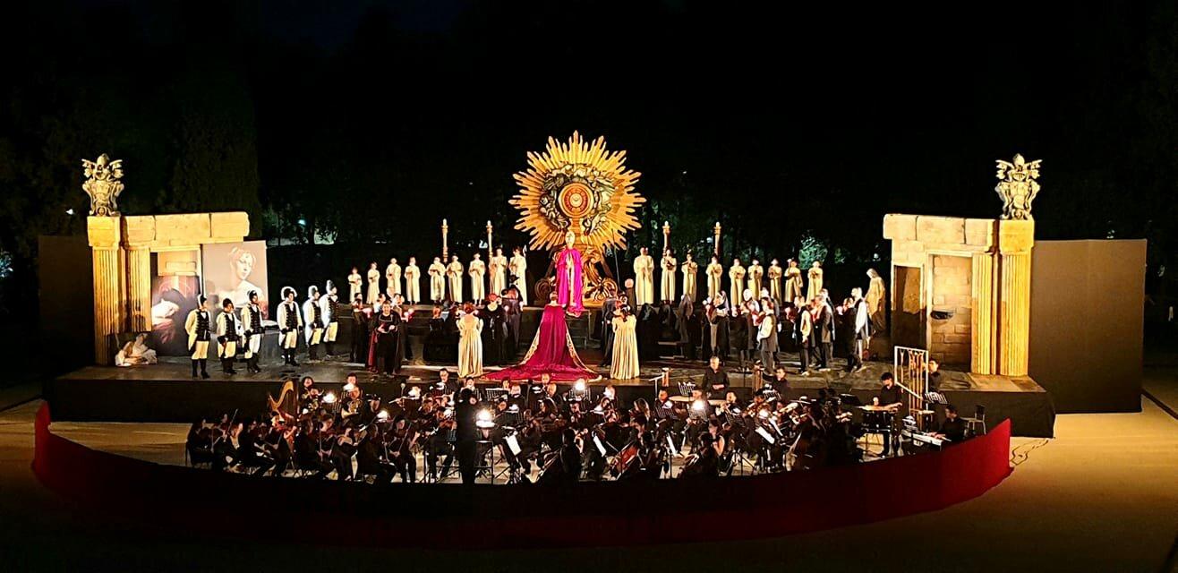"""La """"Tosca"""" caravaggesca del Coro Lirico Siciliano a Taormina"""