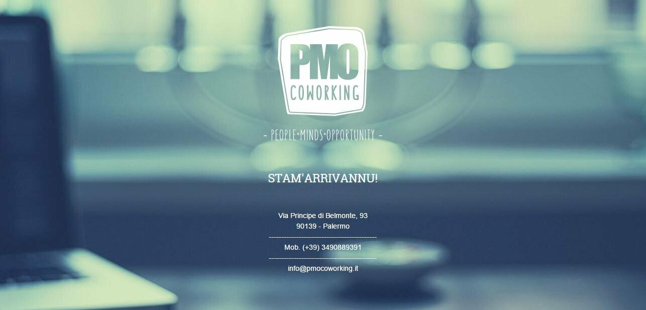 PMO Coworking - il workshop di curatela ed organizzazione di eventi a Palermo