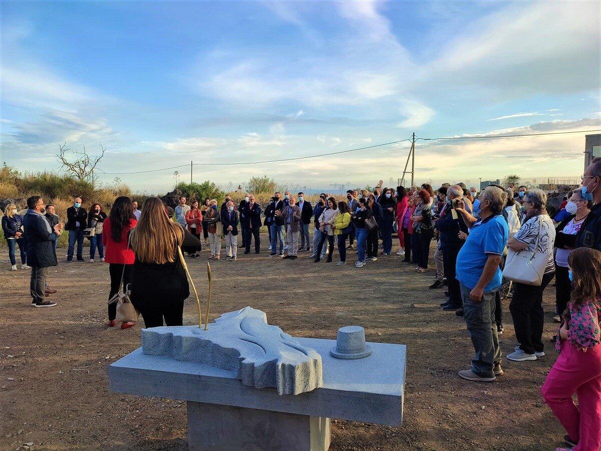 Aba Catania: cinque nuove grandi sculture degli studenti per il Comune di Belpasso