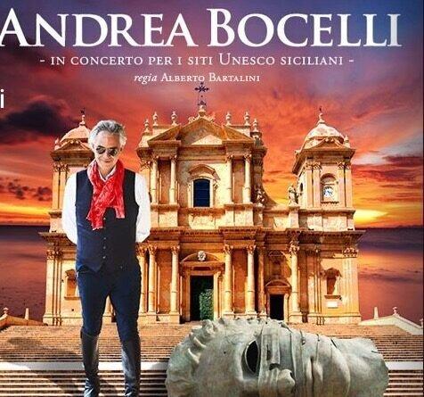«Vi aspetto per celebrare l'arte»: Andrea Bocelli ricorda il suo prossimo concerto a Noto
