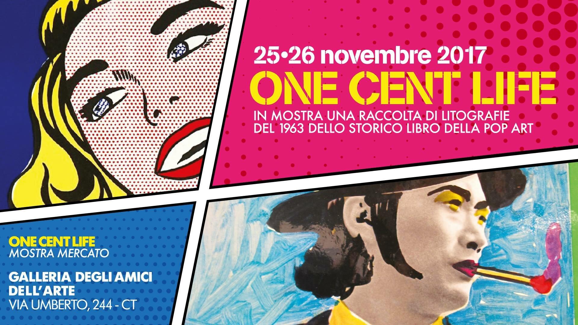 Di nuovo aria di pop art a Catania