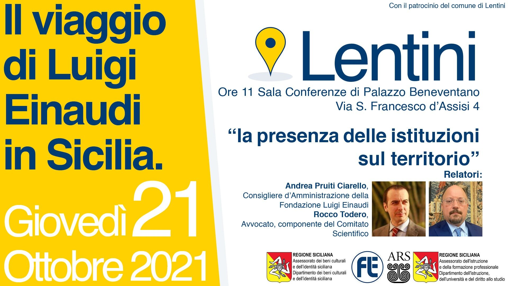 A Lentini la conferenza
