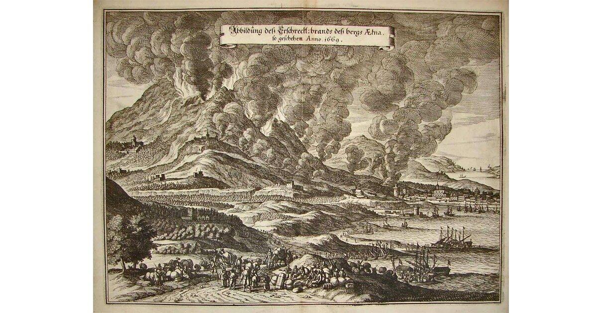 PASSA IL DDL SULL'ISTITUZIONE DI UNA GIORNATA DELLA MEMORIA PER RICORDARE L'ERUZIONE DELL'ETNA DEL 1669