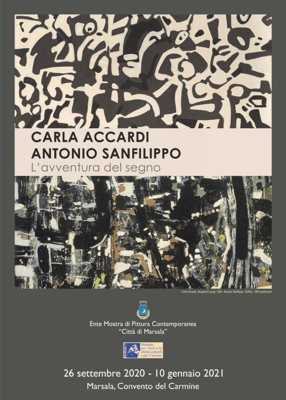 Carla Accardi e Antonio Sanfilippo in mostra a Marsala: dal Gruppo Forma agli anni Settanta