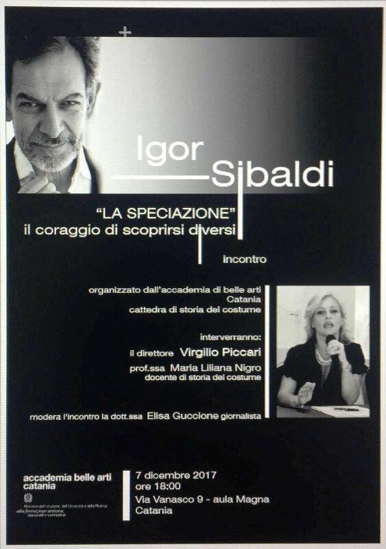 Una lectio magistralis di Igor Sibaldi all'Accademia di Belle Arti di Catania