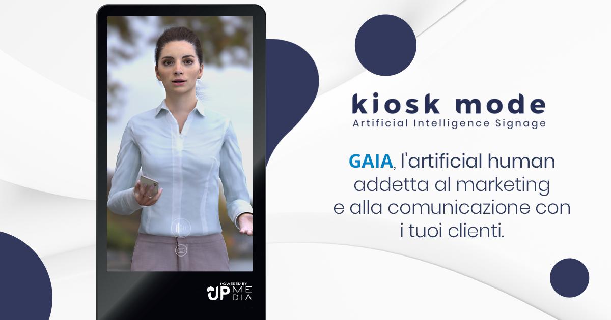 GAIA, l'Artificial Human addetta al marketing e alla comunicazione