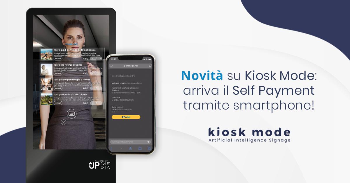 Grande novità: arriva il pagamento sicuro con Paypal su Kiosk Mode