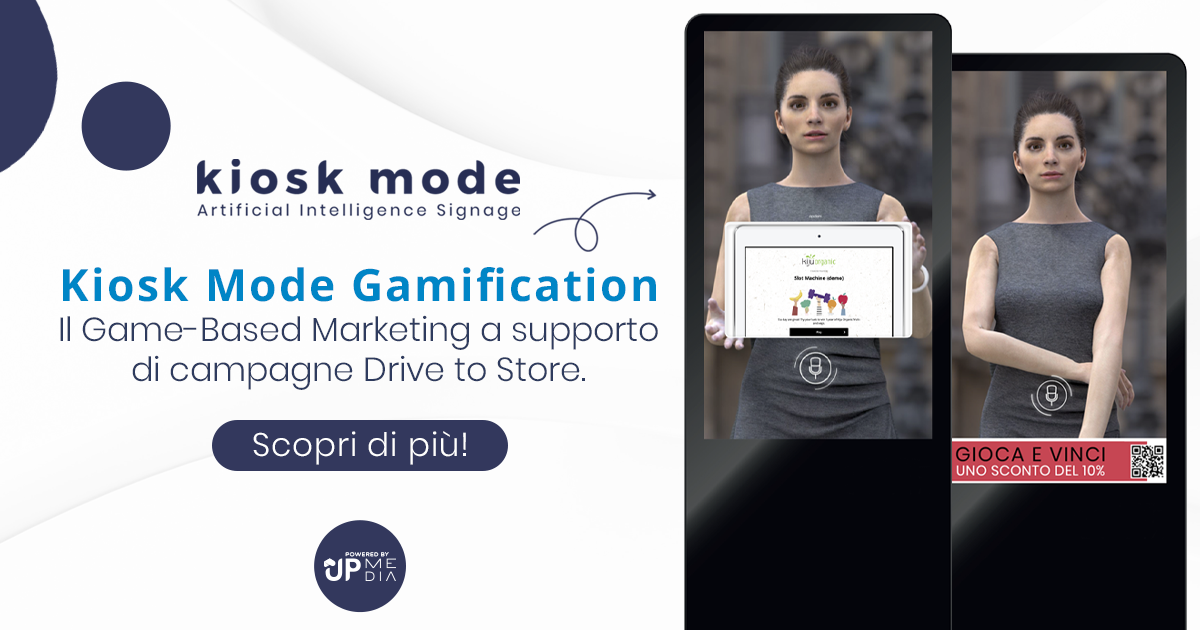Kiosk Mode Gamification a supporto di Campagne Drive to store!