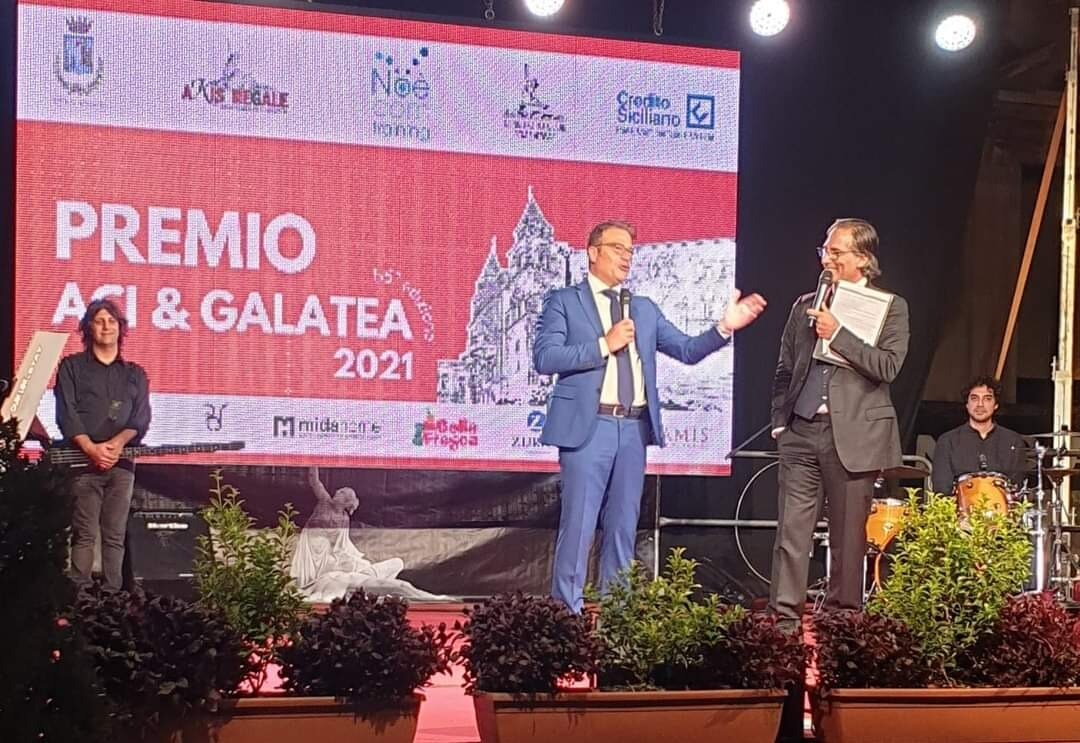 ''Premio Aci e Galatea 2021'' : dalla cultura alla musica, passando per il giornalismo e l'istruzione