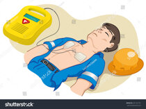 stock-vector-illustration-is-an-employee-with-portable-defibrillator-for-resuscitation-ideal-for-tutorials-241101751