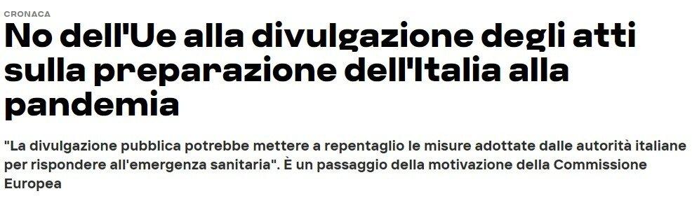 LA PAZIENZA DEGLI ITALIANI HA UN LIMITE