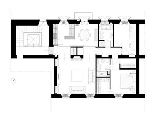Appartamento Sant'Ambrogio Milano arch. Jacopo Alberto Bonini AB Studio Architettura