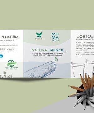 realizzazione brochure, catalogo, pieghevole