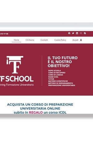 sito web, versione mobile, social, ecommerce, sito responsive, scuola