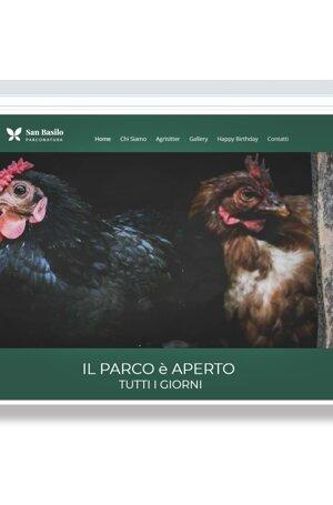 sito web, versione mobile, social, ecommerce, parco natura, sito responsive