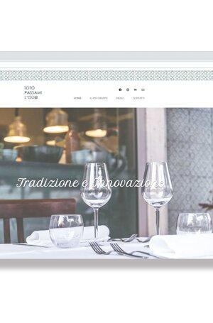 sito web, versione mobile, social, ecommerce, sito responsive, ristorante