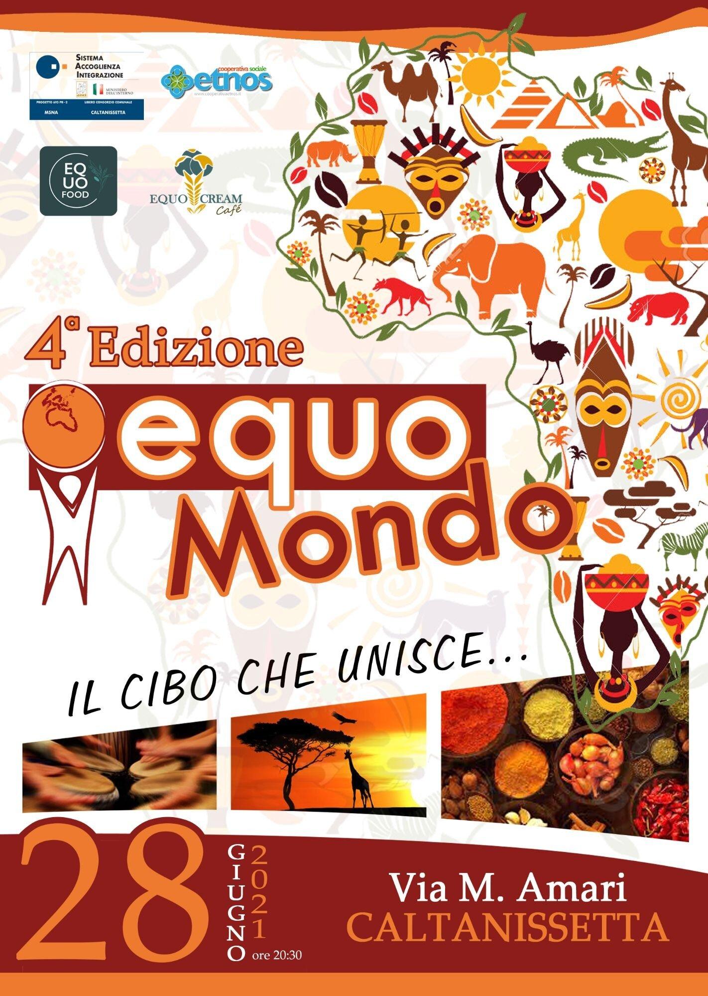 """IV Edizione """"EquoMondo – Il cibo che unisce"""