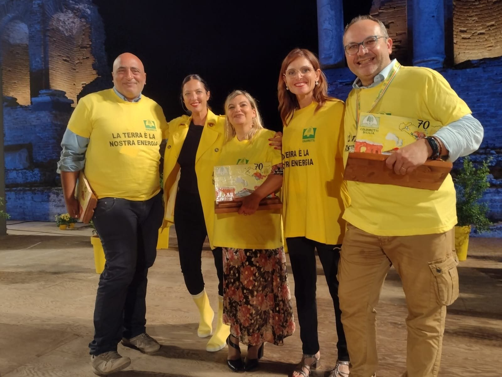 Oscar Green Coldiretti: a Taormina premiato il progetto Restart!