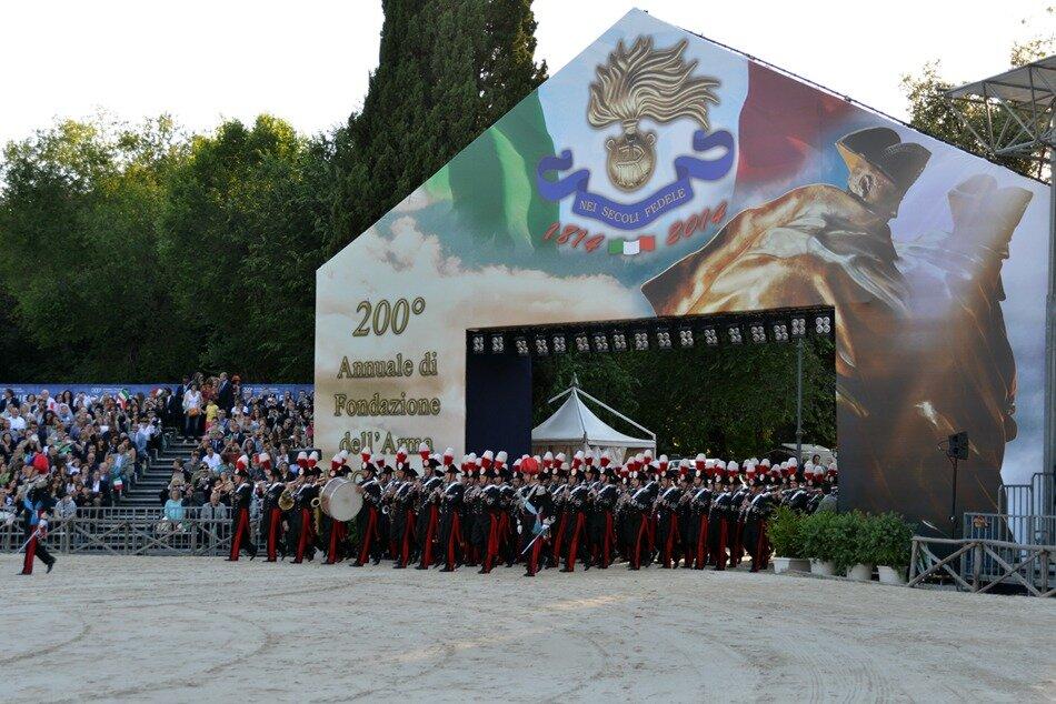 Chivasso 2018 - 200° Anniversario insediamento ARMA dei CARABINIERI
