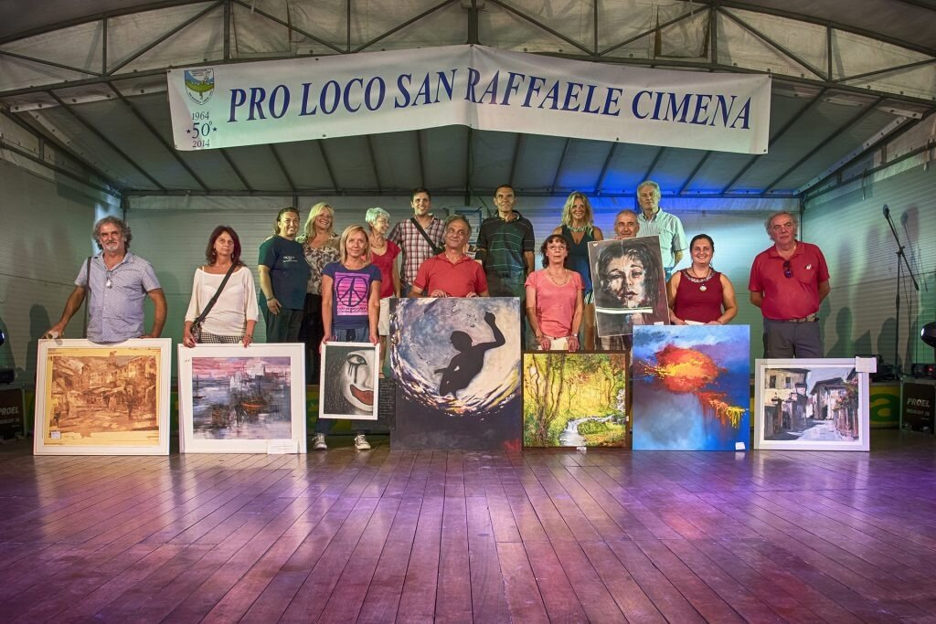 San Raffaele Cimena - Concorso di arte estemporanea e Mostra