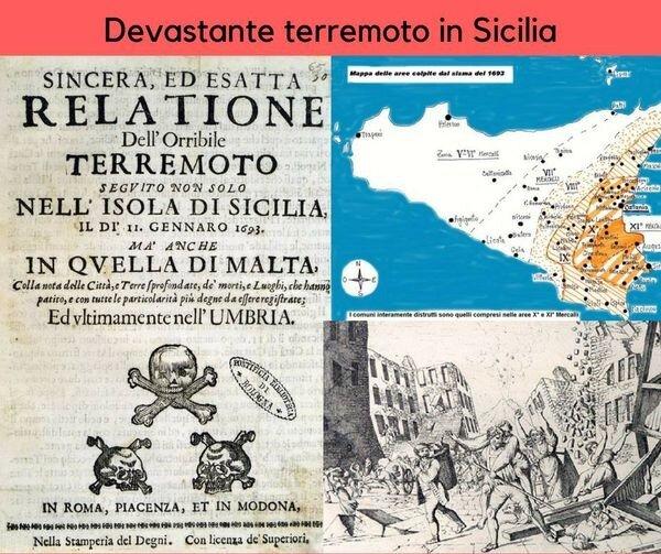 Terremoto violento in Sicilia orientale ........